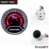 Wholesale Tansky Universal Cars Vehicle Meter Gauge Auto quot mm Air Fuel Ratio Gauge LED Universal auto gauge car meter TK TT