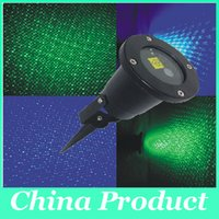 Wholesale Outdoor Laser Stage Lighting Waterproof Garden Lights Starry Firefly Landscape Light Green Red Projector Xmas LED
