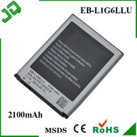 Wholesale S3 EB L1G6LLU Replacement Mobile Cell Phone Battery for Samsung Galaxy S3 i9300 Batteries Baterai Batterij Batteria AAA Retail