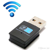 Wholesale 300Mbps Wireless rede network Card Mini USB Router wifi adapter WI FI emitter Internet Adapter for computer Laptop Wifi Receiver