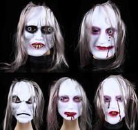 Wholesale 2015 Halloween masks of terror grimace masks of Scary ghost masks