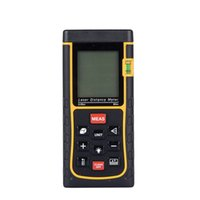 Wholesale DBPOWER M LCD IR Infrared Digital Accurate Laser Distance Tape Measure Meter Area Volume Calculation