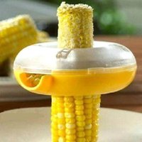 Wholesale Fresh Corn Stripper Sweet Corn Threshing Device For Kitchen Round Novelty Kitchen Tools Corn Niblet Maker CV3172 dandys