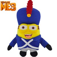 Cheap NEW Despicable Me 3 Anime Plush Toys 3D Eyes Minions Plush Soft Stuffed Doll Minion Toy Christmas birthday Gifts baby kids toys for children