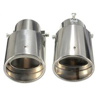 auto sales tips - Price Universal Stainless Steel Car Rear Round Auto Exhaust Tail Pipe Tip for Diesel Trim Muffler Hot Sale