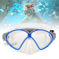 Wholesale Professional Anti Shatter Anti Fog Adjustable Swimming Goggle Silicone Swim Glasses for Men Women Children Diving Mask YJ039 order lt n