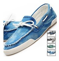 boat shoes - New arrival Low price Mens Zapato Del Boat Casual Shoes Jeans Canvas Slip On Flats Loafer Shoes QT1