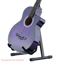 Wholesale Andoer GS E03 Durable A Shaped Guitar Stand Holder for Acoustic Electric Guitar Bass Adjustable Width Foldable Design I1208