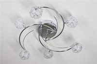 Wholesale Modern ceiling light Aluminum light light Drawing globular moon popular G4 led light by DHL