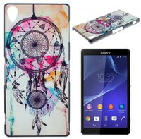 Wholesale For Sony Ericsson Xperia Z3 UK USA Flag Tiger Elephant Eiffel Tower Live the life Tree Anchor Wave Boat Dream Ring Hard Cases skin cover