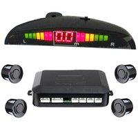 Wholesale New car Parking Sensor LED display Car parking sensor Assistance Reverse Backup Radar Monitor System Backlight Display Sensors