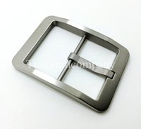 Wholesale Pure Titanium Male Men s Belt Pin Buckle Antiallergic High Quality Light Weight g pc for Belt Narrow than mm