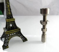 factory direct wholesale - Factory Direct SalesDouble Jointed Adjustable Titanium Nail mm mm Universal Hookah Accessories glass bong Hookah