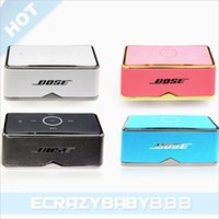 Wholesale BE8 Bluetooth Speaker mini Speaker Wireless Speaker Portable Speaker Phone Speaker computer speaker Sub woofer Music Player