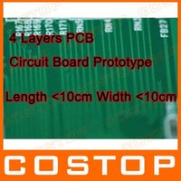 Wholesale Production Layers PCB circuit board prototype sample length lt cm width lt cm Thickness mm green solder