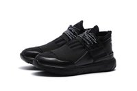 autumn shoes - Spring And Autumn men and Women s Sports Casual Shoes Kanye West shoes Sneaker y3 Qasa Racer Lace Up Black White Black