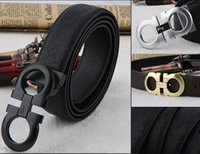 Wholesale Wholesalses Luxury New Mens Leather Single Prong Belt Business Casual Dress Metal Buckle Feitong