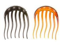 Wholesale 2pcs Full Volume Useful Inserts Hair Clip Bumpits Bouffant Ponytail Hair Bun Maker DIY Comb Hair Accessories X MHM058