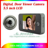 Wholesale inch DIGITAL Door Viewer Camera with photo taking function door cam black or white colors Optional