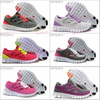 best woman running shoes - 2016 Best Quality free run women s Bareboots FREE RUN with tag shoes ladies gray brand running shoes come with logo