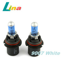 Wholesale 1pair HB5 White Headlight Halogen Lights Auto Car Head Light Bulb K W