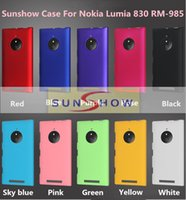 Wholesale 2015 High Quality PC Hard Back Cover Case For Nokia Lumia RM Phone Ultrathin Matte Frosted Back Cover Case For Nokia