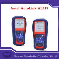 audi road - DHL Autel AutoLink AL419 OBDII OBD2 EOBD CAN Scan Tool Road CAN Code Reader