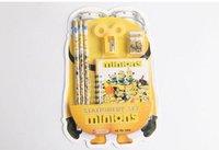 Wholesale 160sets Popular Despicable Me Stationery Set Cartoon Minions Children School Set A309