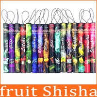 Wholesale 15 Fruit flavor puffs E Shisha Vape E Hookah pens Disposable Hookah electronic cigarette shish