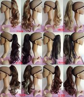 ponytail extensions - wavy Ponytails with clip Synthetic hair ponytail pony tail Hair Extensions pc