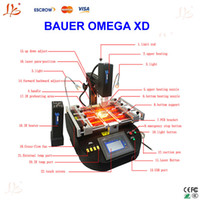 bauer air - to Russia No Tax BAUER OMEGA XD hot air and infrared repair machine with quarts tube in the bottom IR preheating area