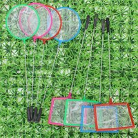 Wholesale Aquarium Accessories Mix Colors Small Size Square Small Pore Fishing Net for Small Fish Shrimp and Insects New Fashion Hot style