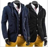Nueva Primavera llegada Moda Hombre chaqueta de estilo británico chaqueta militar Escudo Hombres Windbreaker al aire libre Jaqueta Masculina envío libre