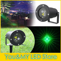 Wholesale 2016 Waterproof Garden Sky star firefly stage laser lighting for outdoor party light Free Ship