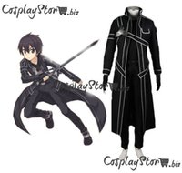art tv online - The new Sword Art Online Kazuto Kiritani and people in black clothes cosplay cos clothing Swordsman