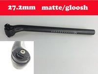 Wholesale Free Logo UD matte gloosh mm full carbon bicycle bike seat post mm