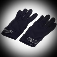 Wholesale Fashion unique high quality but cheap durable stylish suitable anti slip breathable full finger gloves black and blue