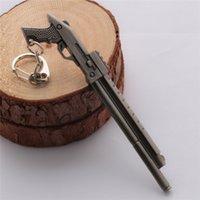 assault movie - CF crossfire Keychain game weapons models assault Shotgun keyring men jewelry portachiavi