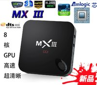 Wholesale XB MXIII Amlogic S802 Android TV Box Smart TV Receiver IPTV Media Player GHz Quad Core Android Octa Core GPU K G G XBMC