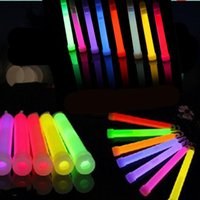 led glow products - 2015 new inches LED Light Sticks hemical Glow Stick Light Stick Glowing Stick Festival Products Colors Mixed Outdoor Adventure Party