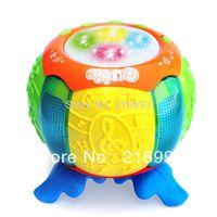 Cheap [New arrival] [Hot sale] Child music pat drum Hand pumpkin clap story telling drum Plastic model gift
