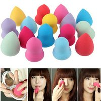 Wholesale Makeup Foundation Sponge Blender Puff Flawless Smooth Beauty Convenient Water Drop Gourd Sponge Smooth Puff Flawless