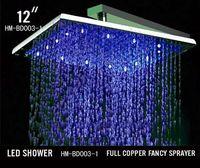 Cheap rainfall shower head Best rainfall led shower head