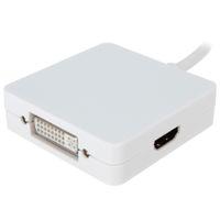 apple thunderbolt dvi adapter - 5pcs Thunderbolt Mini Display Port to DVI VGA HDMI Converter for Apple Macbook Air Pro HMP_577
