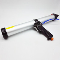 air cartridge guns - High Quality inches ml Sausage Pneumatic Caulking Gun Glass Glue Gun Air Rubber Gun Caulk Applicator Tool
