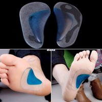 Wholesale Orthopedic Orthotic Arch Support Insole Flatfoot Correction Shoe Insert x2