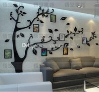 art deco picture framing - Fast Shipping Family Picture Photo Frame Tree Wall Quote Art Stickers Vinyl Decals Home Deco