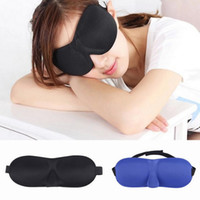 Wholesale Unisex BRA Seamless D Stereoscopic Goggles Eye Patch Stress free Sleeping Eye Mask Colors Choose ZXR