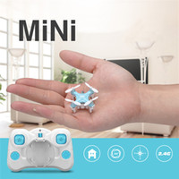 Wholesale DRONE D1 Ultra Mini Quadcopter G Channel Remote Control UFO high quality free DHL shipping