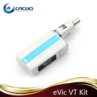 Cigarrillos Joyetech Evic-VT Kits Evic VT E original con 5000mah Entrada batería termosensible del control Mod Auténtico Joytech Evic VT